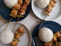 Chicken and Spring Onion Yakitori - World Food Tour