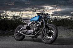 Impresionante Yamaha XV750 Cafe Racer