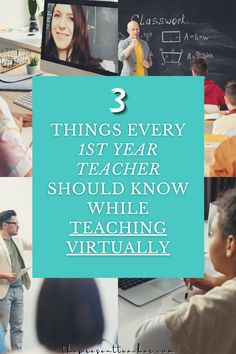 Are you a 1st year teacher or new teacher who is starting Virtual or Hybrid learning? Click now to read the top 3 tips other educators recommend before getting started. #distancelearning #flippedclassroom #teacherhack #teachertips @thepresentteacher Teacher Blogs, Teacher Hacks, Best Teacher, Teacher Resources, 1st Year Teachers, Classroom Management Tips, Interesting Blogs, Flipped Classroom, Elementary Teacher