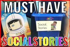100 Must Have Social Stories for Kindergarten!