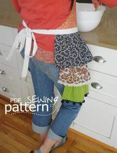 Erica ????    INSTANT DOWNLOAD  Abbie Apron  PDF pattern by fibersandtwigs, $6.00
