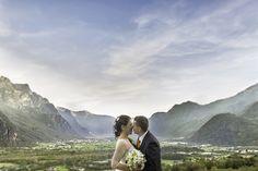 kiss, wedding, mountain
