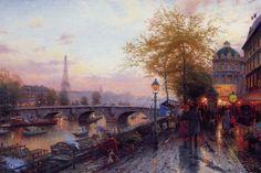 Thomas Kinkade - Paintings of Radiant Light