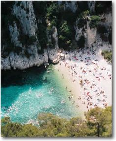 Mala Plage, Cap d'Ail, French Riviera