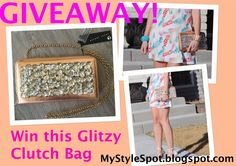 MyStyleSpot: GIVEAWAY: Win this Chic Glitzy Handbag #contest #win #giveaway #sweepstakes OPEN WORLDWIDE! Ends apr 9. 2015. #handbag #bag #glam #clutch #fashion #style #shopping #accessories