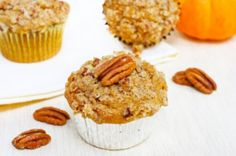 Another pumpkin recipe? Of course. Pumpkin muffins!