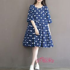 Maternity Clothing Spring Summer Maternity Dress Small White Fox Print Chiffon Neck Medium-Long Plus Size One-Piece Dress