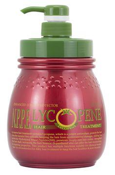 Lycopene Shampoo. Extrato de Licopene e Peptídeos Hidrolisados de trigo, para cabelos crespos, ondulados, cacheados e volumosos. Orgânicos no SALONE.