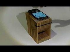 Risuona passive speaker iPhone Huawei Samsung Wood Made in italy