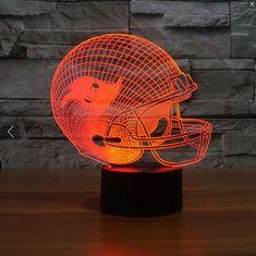 NFL TAMPA BAY BUCCANEERS 3D LED LIGHT LAMP