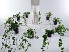 Flowerpot Chandeliers - 'Flora' Lighting Installation Elevates Your Indoor Garden (GALLERY)