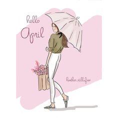 Hello #April