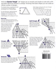 Clearview Triangle (60 Degree) Instructions