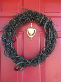 Looking for a subtle, by eerie way to decorate your home for Halloween? You can make a wreath that appears to be filled with creepy, crawly snakes. For $9.98, this wreath could scare anyone daring to knock upon your door this Halloween season.