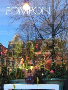 #Bloemenwinkel Pompon in #Amsterdam. www.pompon.nl