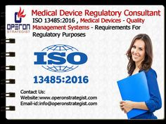 ISO 13485:2016 Specifies Requirements for a Quality Management System where an Organization needs to Demonstrate its ability to provide Medical Devices and Related Services that consistently meet customer and applicable Regulatory Requirements. Such organizations can be involved in one or more stages of the life-cycle, including design and development, production, storage and distribution, installation, or servicing of a medical device and design and development or provision of associated…