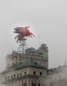 Dimming for years and out for months, Pegasus to light up downtown skyline once again June 28