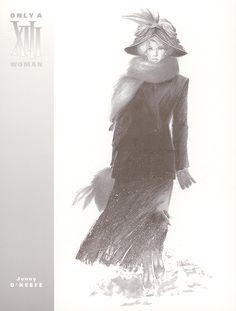 Jenny O'Keefe, XIII, Dargaud. Dessin de William Vance.
