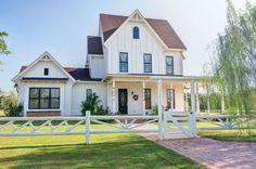 Victorian Farmhouse - CountryLiving.com