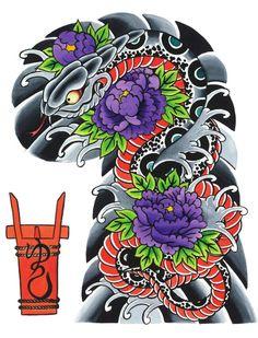 #ClippedOnIssuu from Garyou Tensei. 108 Japanese tattoo sleeve designs by Yushi 'Horikichi' Takei