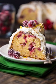 This White Chocolate Cranberry Bundt Cake is so festive and perfect for celebrating the holiday season! We're hosting Christmas at our house this year and I couldn't be more excited! I'm still ironing out the exact menu plans, but dessert? You know I have that covered! In addition to a couple dozen cookies, I'm whipping...