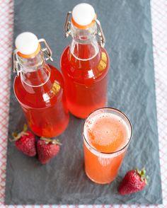 Emma E. Christensen: Summer Homebrew Recipe: Strawberry Kombucha