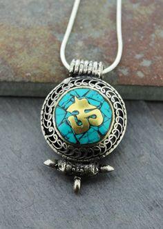 Dharmashop.com - Sanskrit Om Gau Prayer Box Amulet , $39.00 (http://www.dharmashop.com/sanskrit-om-gau-prayer-box-amulet/)
