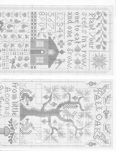 Cross Stitch Sampler Patterns, Embroidery Sampler, Cross Stitch Samplers, Cross Stitch Charts, Cross Stitch Designs, Cross Stitching, Cross Stitch Embroidery, Blackwork, Halloween Cross Stitches