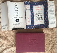 """The Three Musketeers"" book Alexandre Dumas Modern Library Edition 1950 HC/DJ | eBay"