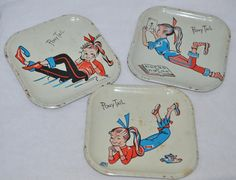 Vintage Metal Toy Dishes