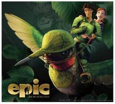 Nod & MK on a humming bird! #Epic #Movie