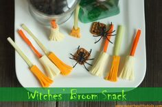 Oh my goodness--a healthy Halloween snack.  I might fall over dead.