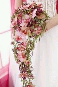 bruidsboeket op draad - Google zoeken