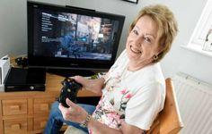 InfoNavWeb                       Informação, Notícias,Videos, Diversão, Games e Tecnologia.  : Aposentada de 72 anos joga mais videogame que você...