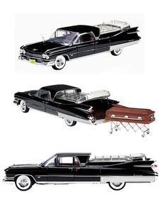 1959 Cadillac Flower Car Diecast Model   Legacy Motors