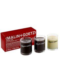 Malin + Goetz Bestselling Candle Gift Set