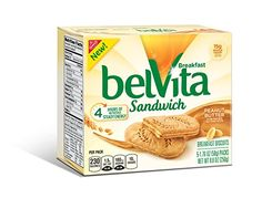 Belvita Sandwich Biscuits Peanut Butter 88 Ounce Pack Of 6 *** Want additional info? Click on the image. (Note:Amazon affiliate link) #BreadsBakery