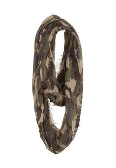 Camo Print Infinity Scarf available at #Maurices LOVE!! $14