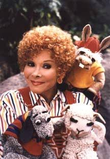 Sherri Lewis with Lamb Chop