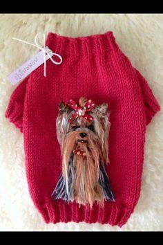 Knt Dog Sweater Pattern, Crochet Dog Sweater, Yorkie Clothes, Pet Clothes, Crochet Dog Clothes, Knitting Patterns, Crochet Patterns, Dog Clothes Patterns, Pet Fashion