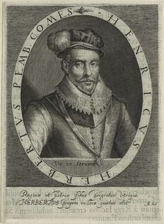 Henry Herbert, 2nd Earl of Pembroke (1534?-1601) was an English statesman who played a prominent role in the trial of Mary, Queen of Scots. Herbert was the son of Sir William Herbert, 1st Earl of Pembroke and Countess Anne Parr. He served as president of Wales in 1586. In 1577, Herbert married Mary Sidney, the sister of poet Sir Philip Sidney. As the Countess of Pembroke, Mary Herbert was an important patroness of the arts and an author in her own right.