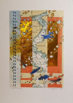 Flight of Fancy Mixed media collage www.wduffieldart.com #mixedmedia #mixedmediaart #wduffieldart #yyjartist# victoriaartist #bcartist  #canadianartist #buyhandmade  #oneofakind #uniquegifts #collage #aviation #vintage #map Canadian Artists, Mixed Media Collage, Aviation, Unique Gifts, Fancy, Map, Vintage, Air Ride, Location Map