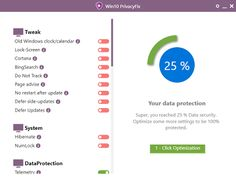 Win10 PrivacyFix 2017 1.6  Abelssoft Win10 PrivacyFix  utility allows you to disable services on the Windows operating system the collection of personal data of users 10. The program will help to solve all the problems of Windows 10 which violate the right to privacy of the user when using the PC. Prevents Microsoft it to collect private data Win10 PrivacyFix makes the data collection server from Microsoft and disables critical services. Optimizes Explorer and background services Prevent eg…