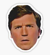 Tucker Carlson - Can't Cuck The Tuck - MAGA - Absolutely Concerned Sticker