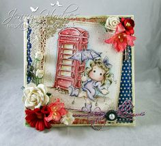 Little London Magnolia stamps