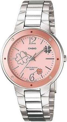 Casio Marka Saat, Hemde İçi Pembe..  Bu Saati görüpte bayılmamak mümkün değil:)