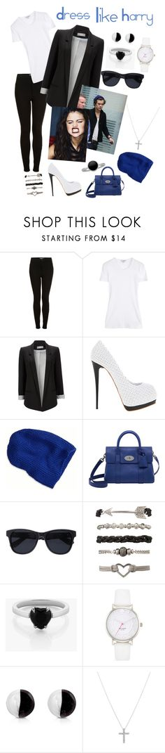 """""""Switched"""" by mary-5so1ds ❤ liked on Polyvore featuring Topshop, James Perse, Wallis, Giuseppe Zanotti, Cree, American Eagle Outfitters, Mulberry, Anine Bing, Meadowlark and Kate Spade"""