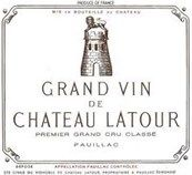 """GrapePip Auction: 2005 Château Latour £3K in bond per 6 """"Deep garnet colored, the 2005 Latour presents a wonderful combination of pure cassis, violet and toast notes with nuances of black olives, loam and pencil shavings. The palate offers wonderful richness, balance and seamless, going very long and layered in the finish."""" erobertparker.com in November 2012"""