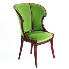 French Art Nouveau Armchairs by Gaillard