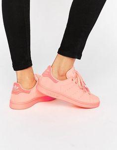hot sale online a6efd b4644 adidas Originals Stan Super Colour Sun Glow Trainers